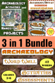 Archaeology:  Hands-On and Integrated Learning BUNDLE