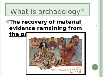 Archaeology PowerPoint (North America)