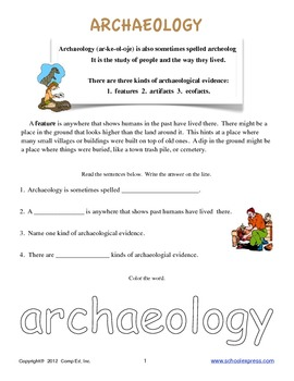 Archaeology Thematic Unit