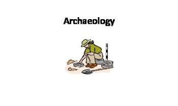 Archaeology Unit Flashcards