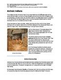 Archaic Indians nonfiction passage and practice
