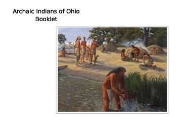 Archaic Indians of Ohio Booklet