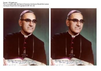 Archbishop Oscar Arnulfo Romero Comic Strip and Storyboard