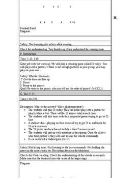 Archery Lesson Plan