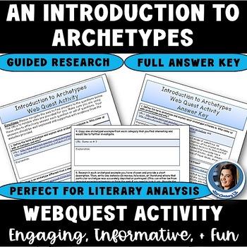 Archetype Web Quest Introduction Activity