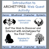 Archetype Web Quest Introduction Activity