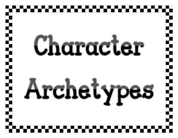 Archetypes Chart (Characters)