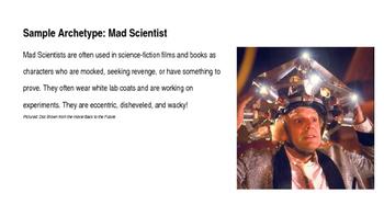 Archetypes Collaborative Powerpoint Activity