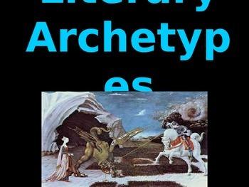 Literary Archetypes Analysis Lesson