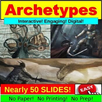 Archetypes Popular Culture Mega PowerPoint!