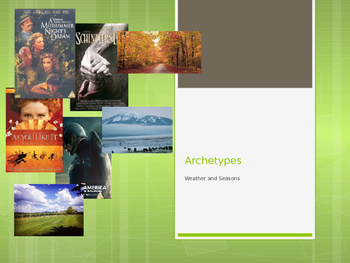 Weather and Seasons Archetypes
