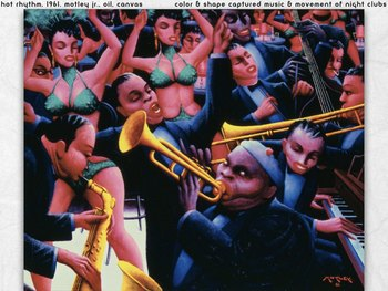 Archibald Motley Art SHOW + TEST African American Art - Black Negro Art