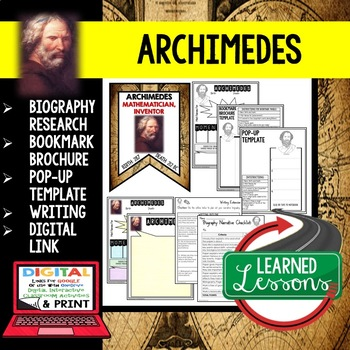 when was archimedes born and died