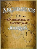 Archimedes Math of Ancient War Journal - fraction, scale,