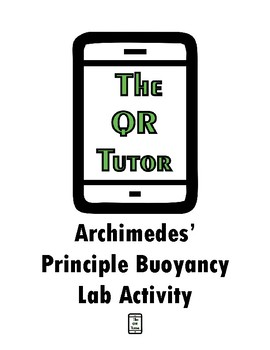 Archimedes' Principle Buoyancy Lab Activity