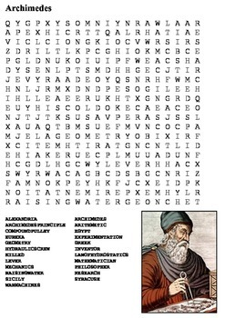 Archimedes Word Search