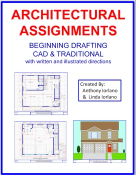 Architectural Assignments, Drafting, Beginners, Architecture, CAD