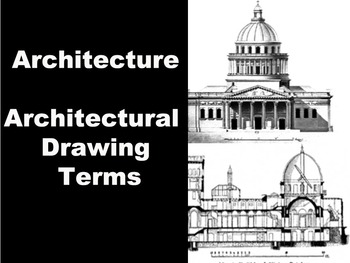 Architecture -Architecture Drawing Terms Handout