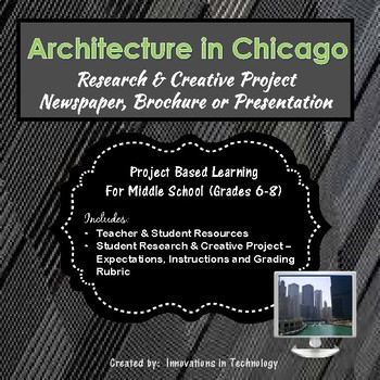 Architectural Landmarks in Chicago - Research & Creative Technology Project