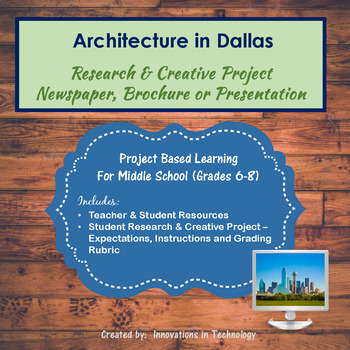 Architectural Landmarks in Dallas - Research & Creative Technology Project