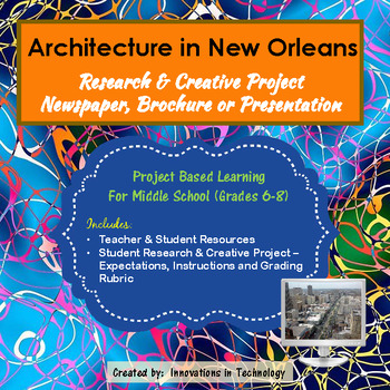 Architectural Landmarks in New Orleans - Research & Creative Technology Project