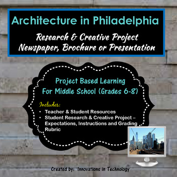 Architectural Landmarks in Philadelphia - Research & Creative Technology Project