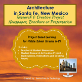 Architectural Landmarks in Santa Fe - Research & Creative Technology Project