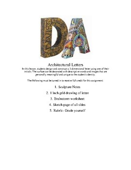 Architectural Letters