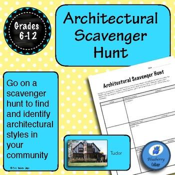 Architectural Scavenger Hunt - Architecture Activity