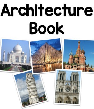Architecture Book for Blocks or Construction Area