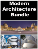 Architecture  Bundle- Modern Focus- Gehry, Wright, & Pei- 3 Powerpoints