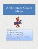 Architecture Choice Menu