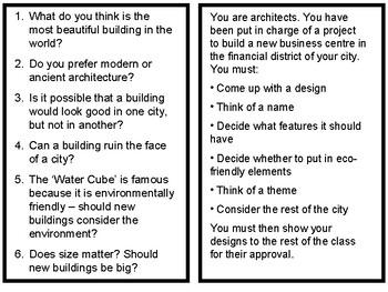 Architecture ESL Conversation and Vocabulary Class