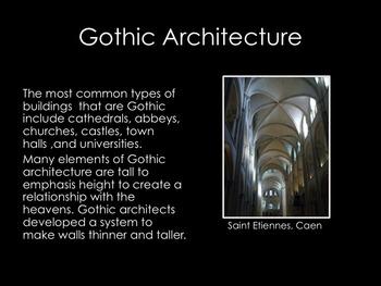 Architecture- Gothic Architecture