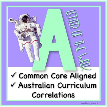 FREE Letter of the Week Pack: A (Including Literacy, Math, Science & Humanities)