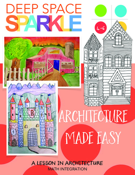 Architecture Made Easy: How to Draw a Barn, Castle and a V
