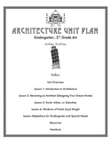 Architecture Unit Plan for Elementary Art