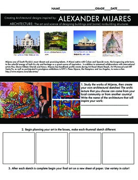 Architecture Art Project Hispanic American living artist (Mijares)