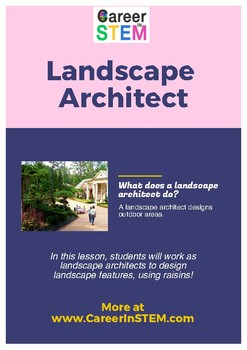 Architecture for Kids: using raisins to create landscape features!