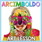 Art Lesson: Arcimboldo Art Game | Art Sub Plans