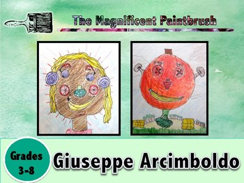 Arcimboldo Power Point and Lesson Bundle