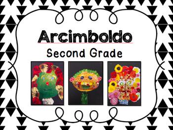 Second Grade-Arcimboldo Collage