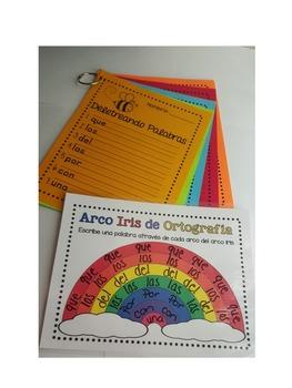 Arco Iris de Ortografiía - Deletreando Palabras
