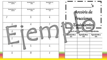 Arcoiris deFraccionesequivalentes-Actividad