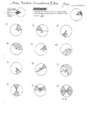 Arcs, Sectors, Circumference and Area of Circles