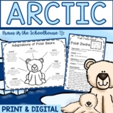 Arctic Animals & Adaptations Research Activities and Graphic Organizers