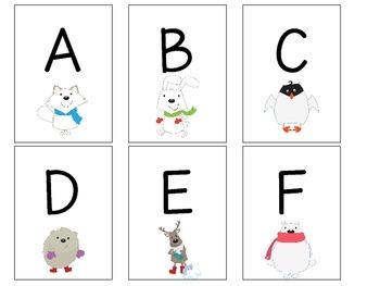 Arctic ABC Game
