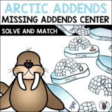 Missing Addends Center - Arctic Addends