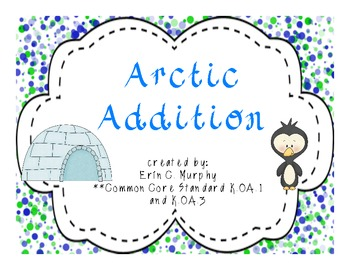 Arctic Addition - K.OA.1 & K.OA.3