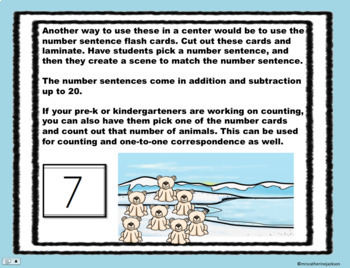 Arctic Addition and Subtraction